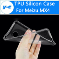 For Meizu MX4 Case Silicon TPU Cover 100% New Clear Shell Protective Soft Back Cover For Meizu MX 4 Smart Phone Free Shipping