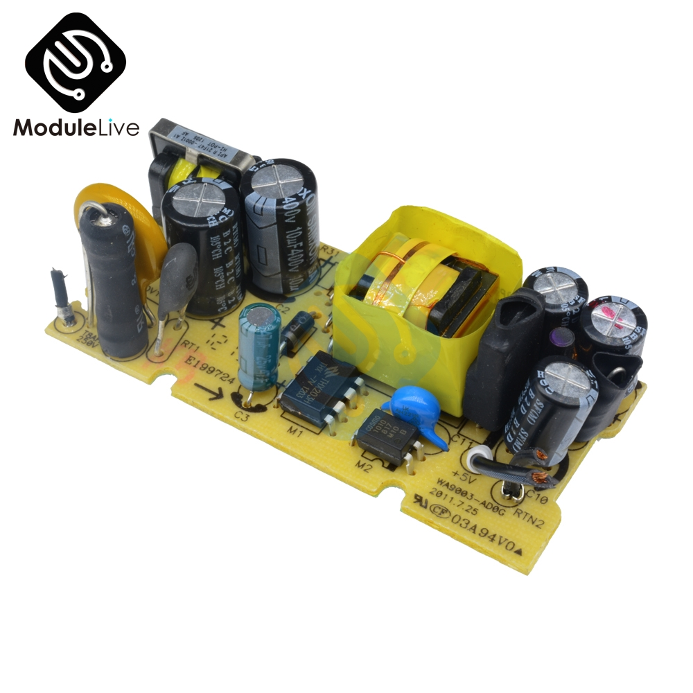 AC-DC 5V 2A 2000mA Switch Switching Power Supply Module For Replace Repair LED Power Supply Board 100V-240V to 5V 2A
