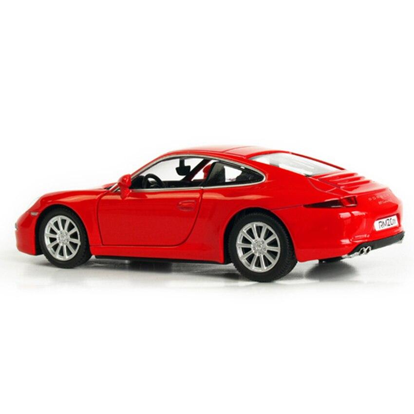 R 1:36 сплава отступить игрушечных автомобилей 911 CARRERA s спортивный автомобиль модели детских игрушечных автомобилей оригинальный Уполномоче... ...