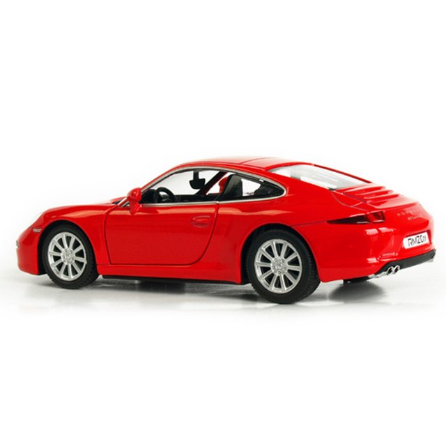 R 1:36 Alloy Pull Back Toy Vehicles 911 Carrera S Sports Car Model Porsche Silver And Black Toy Car Remote on