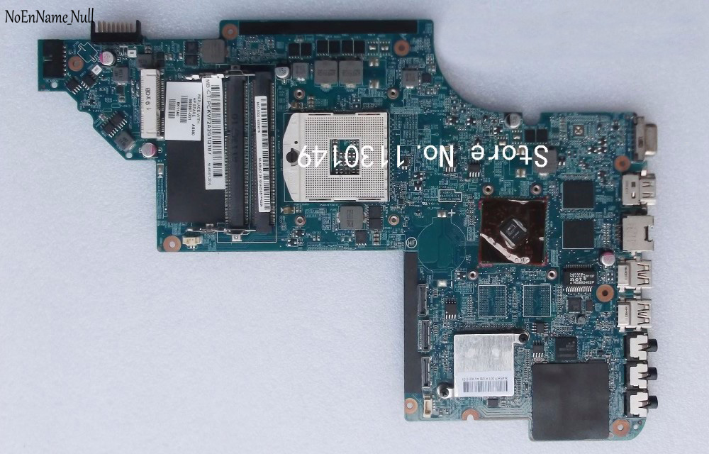Free Shipping 665987-001 Motherboard For HP Pavilion DV7 DV7-6000 Laptop Motherboard 100% Tested Well