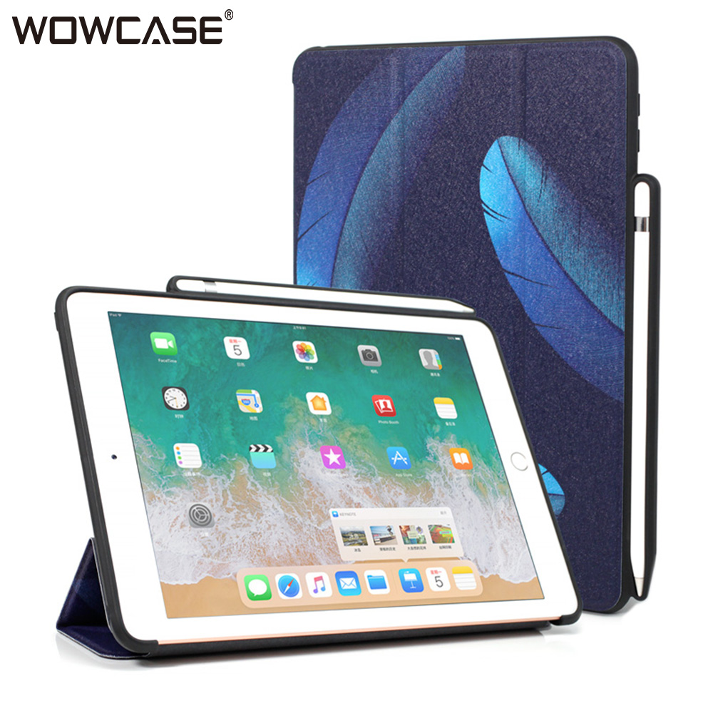 for iPad Pro 10.5 Case,WOWCASE Pencil Holder Smart Sleep Stand Ultra Slim Tablet