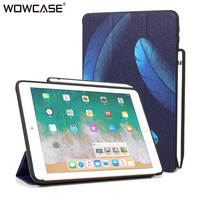 for iPad Pro 10.5 Case,WOWCASE Pencil Holder Smart Sleep Stand Ultra Slim Tablet Cover For Apple iPad Pro 10.5 2017 A1701 A1709