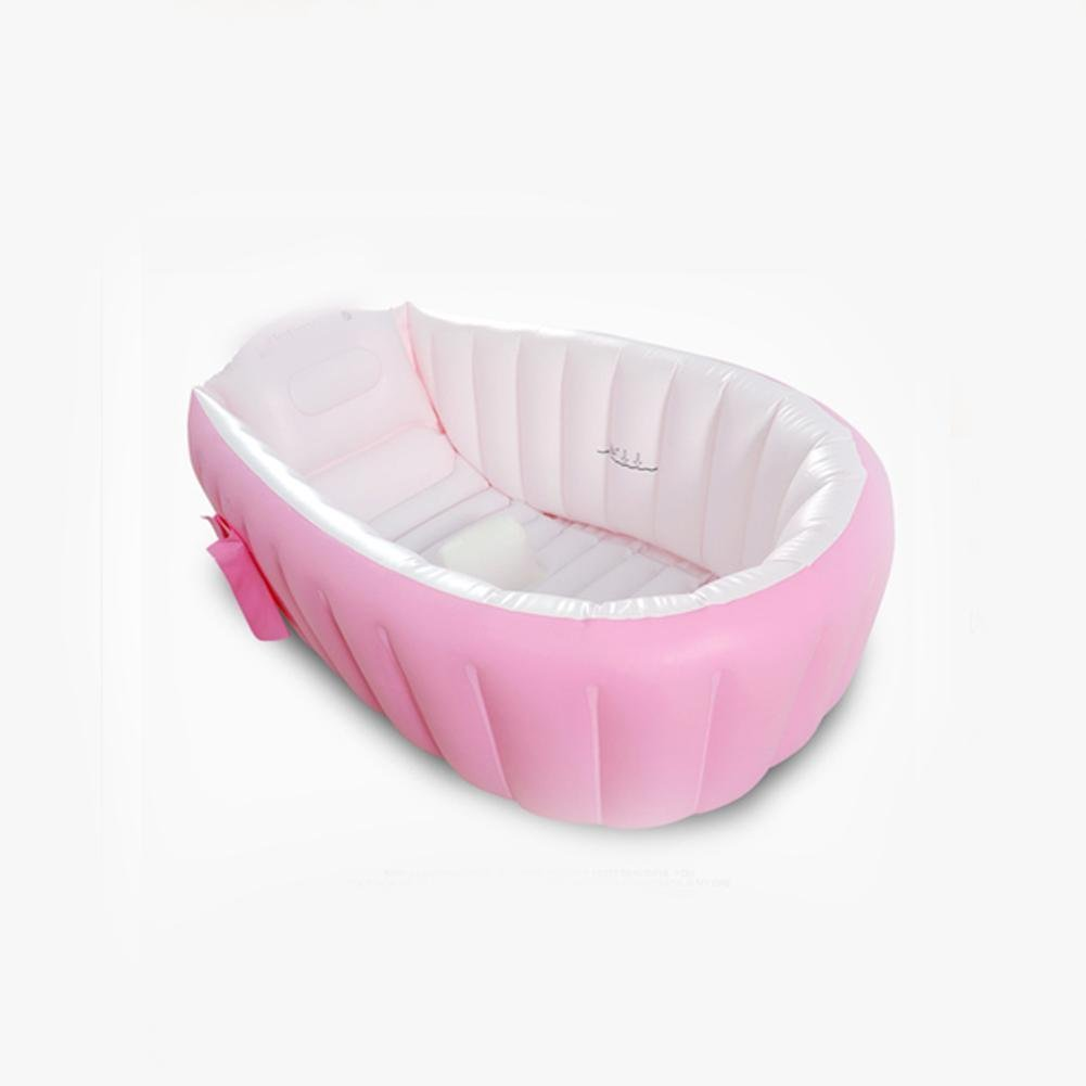 bambino vasca da bagno gonfiabile pieghevole vasca per bambini del bambino del bambino ancorata anti