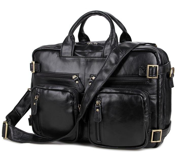Nesitu 큰 대용량 정품 가죽 남자 메신저 가방 14 인치 노트북 서류 가방 쇠가죽 채찍으로 치다 여행 가방 # m7026-에서크록스 바디 백부터 수화물 & 가방 의  그룹 1