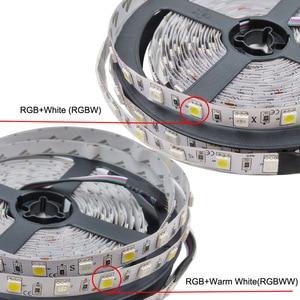 Image 3 - 5050 RGBW/WW LED Strip Licht WIFI Controller Neon Lamp 20 M Strepen Decor Flexibele Tape tira fita Diode lint DC 12 V Adapter Set