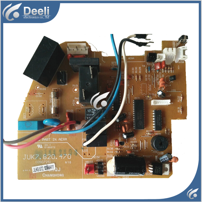 95% new good working for air conditioning board Computer board JUK6.672.10004411 JUK7.820.470 good working 95% new for haier refrigerator computer board circuit board bcd 198k 0064000619 driver board good working
