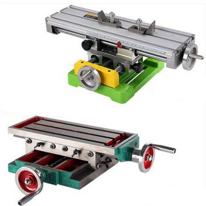 Sell At A Discount!!The Drill Mounting Mini Multifunctional Milling Machine Precision Cross Slide Table Carriage DIY
