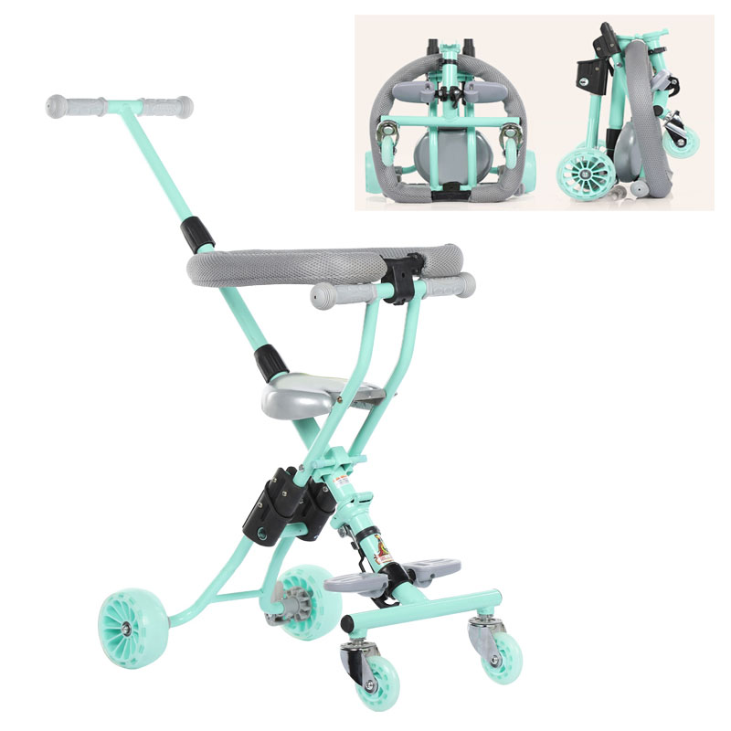Ultra Fold Toddler Tricycles For Kids With Parents Handle ...