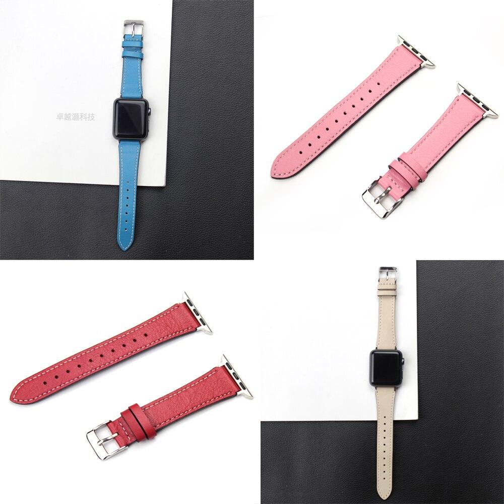 JOYOZY New Genuine Leather watchbands watch accessories for iwatch bracelet Apple watch band 42mm 38mm series 1&2 watch strap