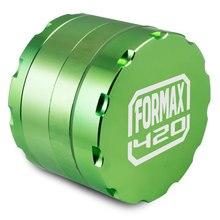 Formax420 2.5 Inch 4 Parts Premium Quality Aluminium CNC Tobacco Grinder