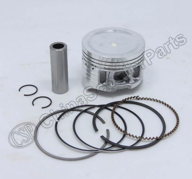 52.4MM 13MM Piston Rings Kit 125CC 1P52FMI For YX125 Locin PBR Dax Monkey Dirt Pit Bikes Parts