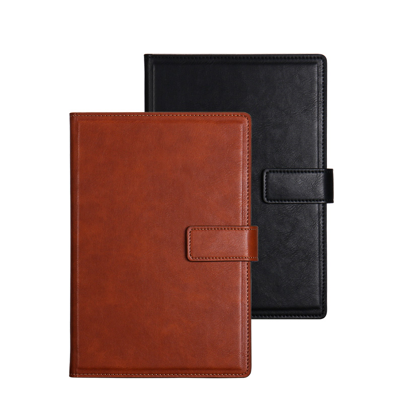Hardcover Notebook 100 Sheets A5 Pu Leather Ruled Page Classic Notebooks with Magnetic Hasp Pen Slot 7 Colors for Choose 唐圭璋推荐唐宋词 page 7