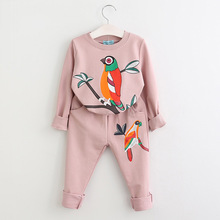 2 Piece Set Girl Kids Cloths Children Clothing Clothes For Spring And Autumn 1286