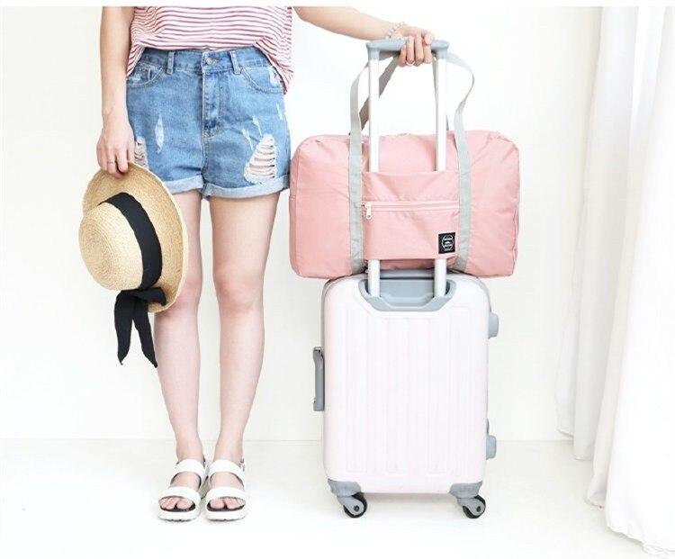 Velké ležérní cestovní tašky Oblečení Zavazadla Pořadatel Uspořádání Puch Pouzdra Kufříky Příslušenství Stuff Product Gear Items