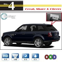 Car Camera For Range Rover Sport 2005~2012 High Quality Rear View Back Up Camera For PAL / NTSC to Use | CCD with RCA