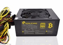 2000W Over 95% Efficiency ATX12V V2.31 ETH Coin Mining Miner Power Supply Active PFC Power Supply for 8 graphics cards bitcoin