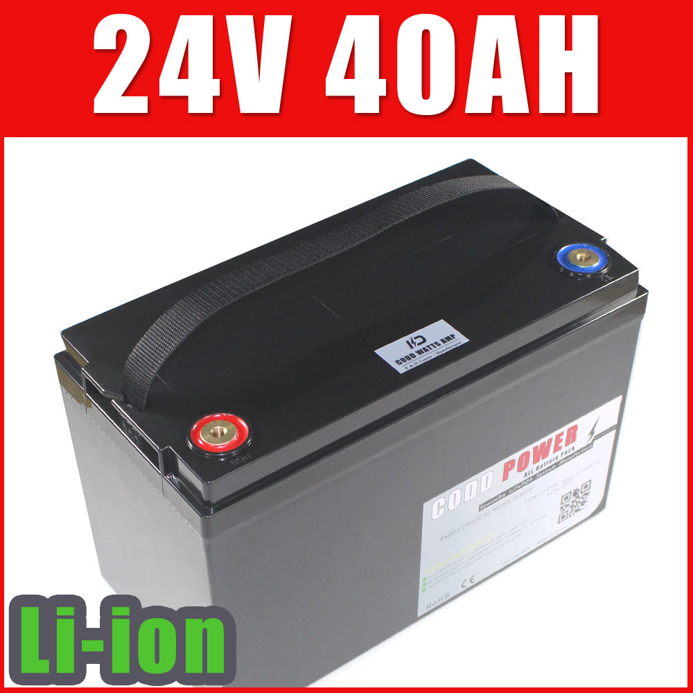 Lithium Ion Car Battery >> Us 399 6 24v Li Ion Battery Deep Cycle 24v 40ah Solar Lithium Ion Battery Robot Golf Car Battery In Electric Bicycle Battery From Sports