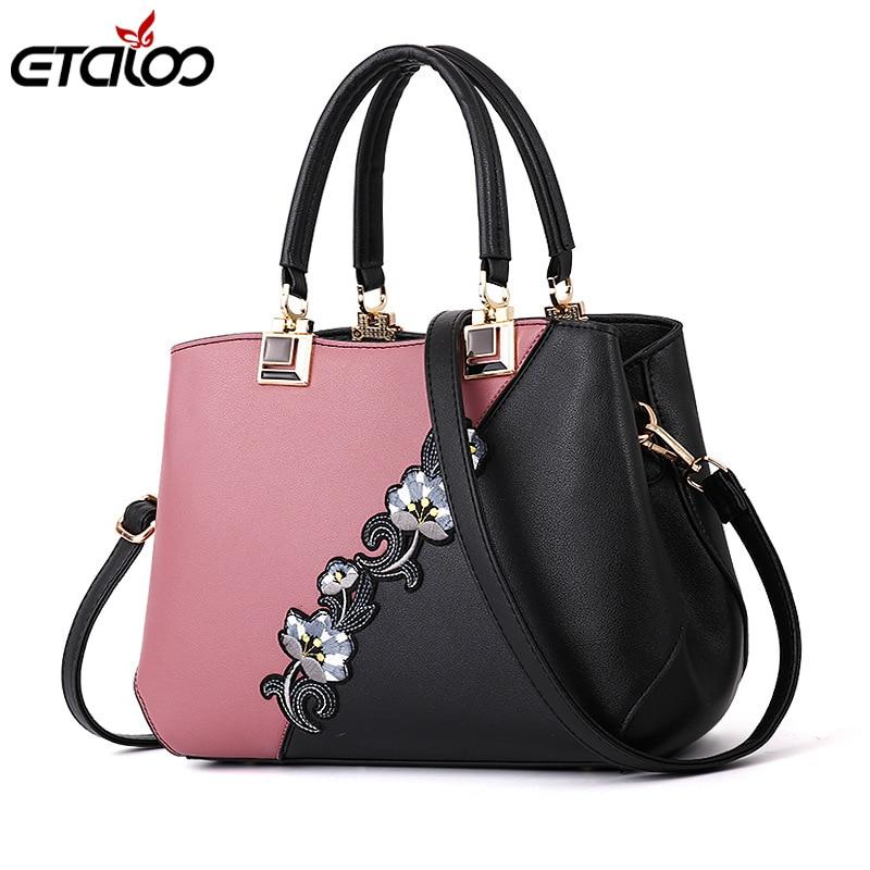 Women Handbags Fashion Leather Handbags Designer Luxury Bags Shoulder Bag Women Top-handle Bags ladies bag 2019 New ladies bag new design