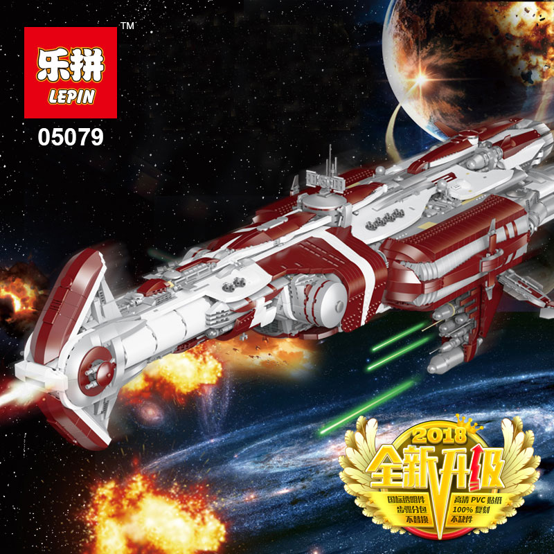 Lepin 05079 Star Genuine War Series 7956Pcs The LegoINGly MOC Zenith Old Republic escort cruiser Set Building Blocks Bricks Toys rollercoasters the war of the worlds