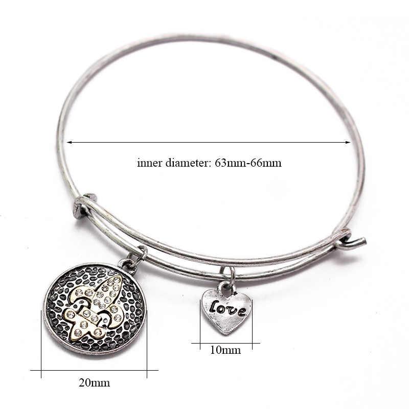 פשוט צמיד כוכב ים צלב חמסה חוט קסם צמיד Femme קאף צמידים לנשים יפה מתנה מפורסם מותג תכשיטים