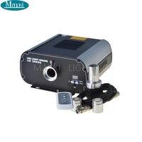 Maykit красочные мерцание волоконно оптический источник света 80 Вт осветитель с DMX разъем пульта дистанционного управления для Люстра Источни