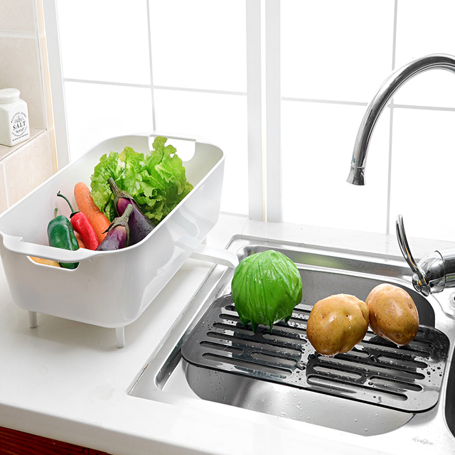 new arrival originality kitchen cabinet plastic dish drying rack