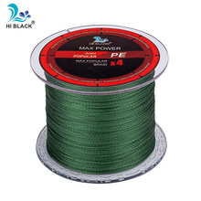 4 Strands Japan Multifilament 100% PE Braided Fishing Line 500M 8LB to 80LB Tough and strong fishing line