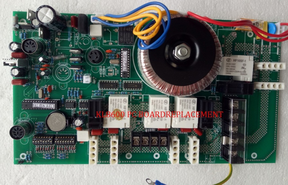 China spa controller pack KL8600 PC circuit board with transformer - new !China spa controller pack KL8600 PC circuit board with transformer - new !
