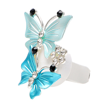 LEEPEE  Car Perfume Decoration Fragrance Natural Smell Air Freshener Auto Accessories  Butterfly Air Conditioner Outlet Clip