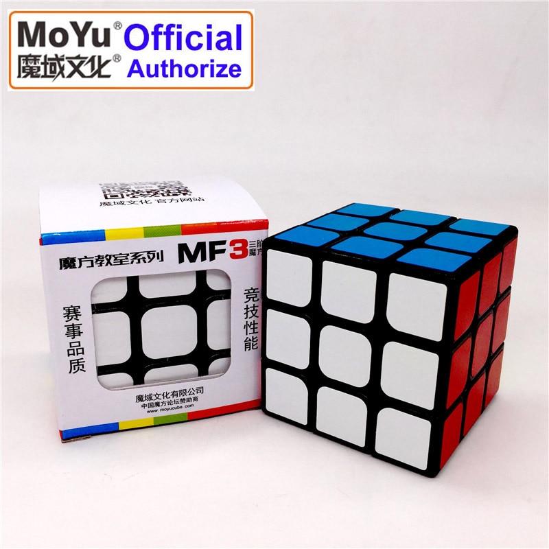 MOYU Brand MF8803 Magic Cube 3x3x3 Speed Cube Plastic Sticker New Smooth Design Cubo Magico Educational Toys For Children MF3SET
