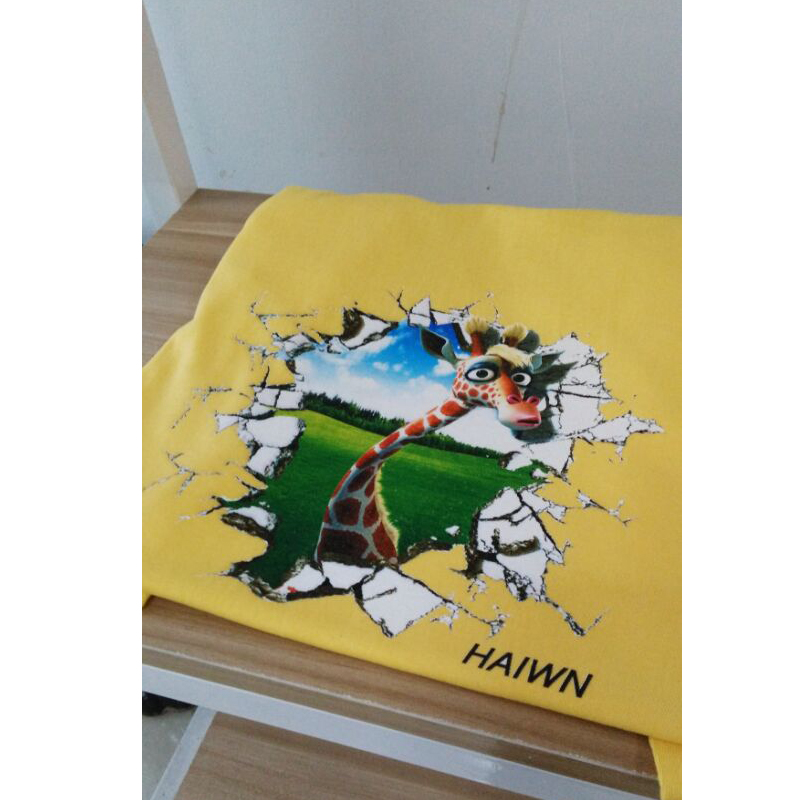 Avancerad ny design t-shirttryck billigt t-shirt tryck a3 6 färg - Kontorselektronik - Foto 5