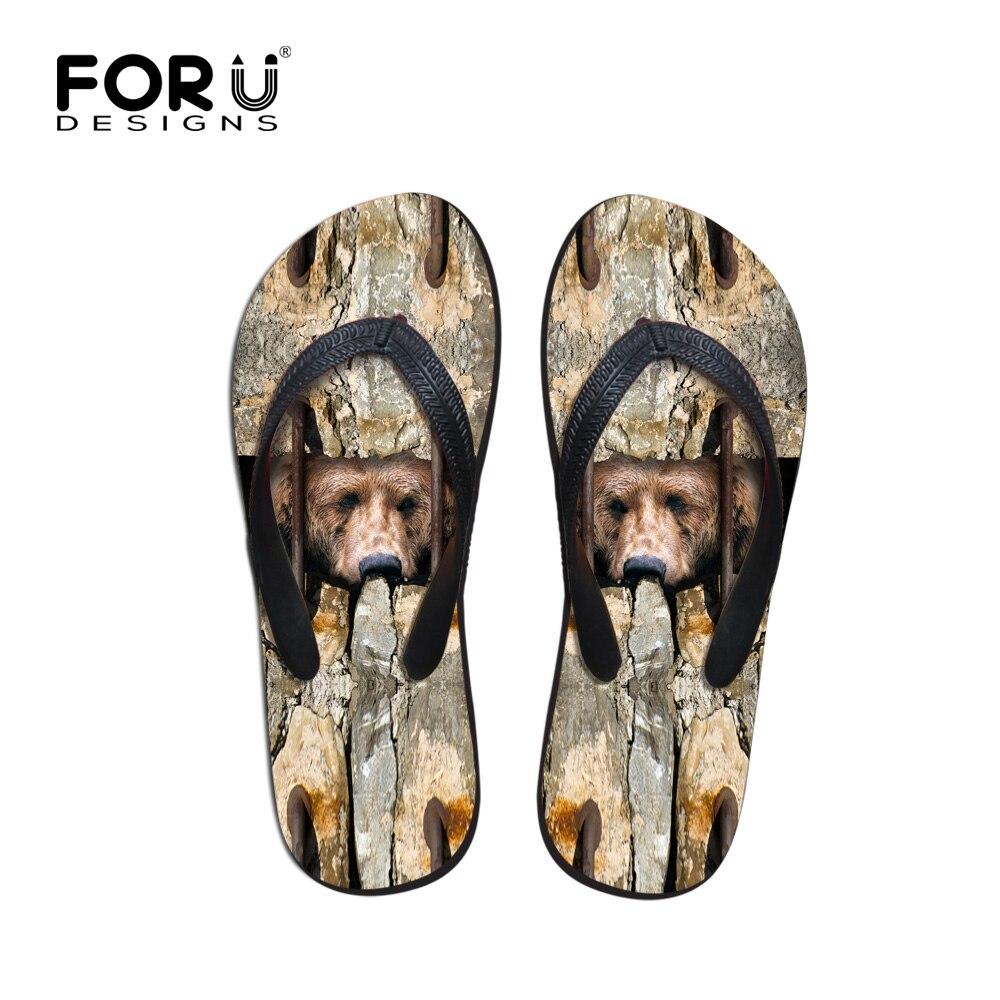 ୧ʕ ʔ୨Alta calidad de los hombres de la marca Flip Flops Sandalias ...