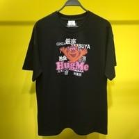 2019ss Vetements HugMe Japan Place Name Printed Women Men T shirts tees Hiphop Men Cotton Vetements Oversized Kanye West T shirt