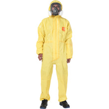 Pro Safety Clothing 3000 Chemicals Protective Clothing Whole-body Sulfuric Acid Alkali Safety Coveralls Mercury Chemical Suit