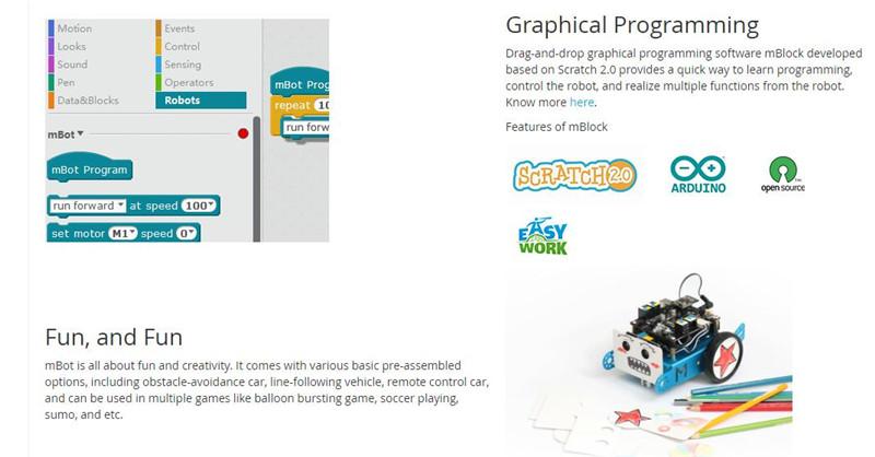 US $106 12 5% OFF|Makeblock MBot V1 1 Blue / Pink (Bluetooth Version)  Upgrated Version DIY Mbot Educational Robot Kit DIY Car Kids Toys robot-in  Parts