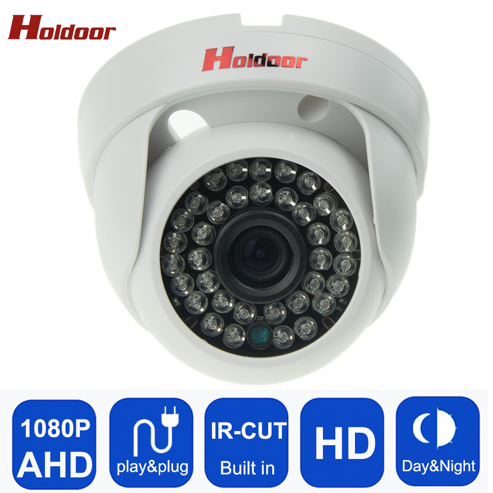 Holdoor Full HD 1080P AHD Camera AHD Resolution With IR-Cut Night Vision 2.0MP 36 Infrared Led Security CCTV Home free shipping holdoor 2 0mp hd 1080p ahd camera security camera surveillance outdoor ip66 waterproof ir cut infrared night vision cctv camera