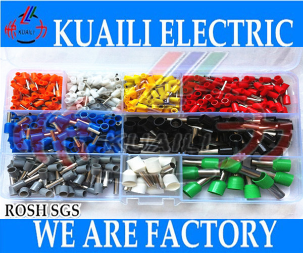 100pcs Wire Copper Crimp Terminal Connector Cable Insulate AWG 20//18//16//14//12//10