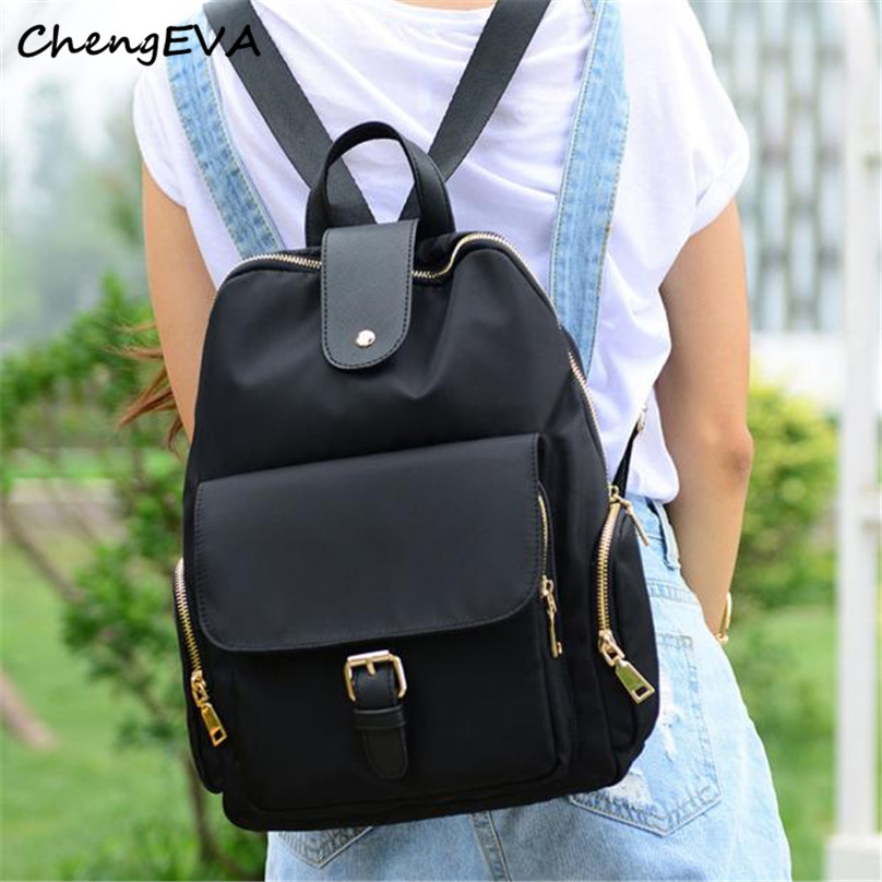 Casual Hot Sale Attractive Elegant Fashion Women Backpack Solid School Backpacks Shoulder Bags Free Shipping Dec