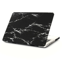 Marble Black White Texture Case Laptop Bag Case For Apple Macbook 13Pro No Retina