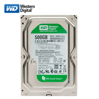 WD Green disk 500GB internal hard disk 3.5 SATA3 HDD Mute 5400 7200RPM 6Gb/s 32MB cache HD hard disk for desktop computers