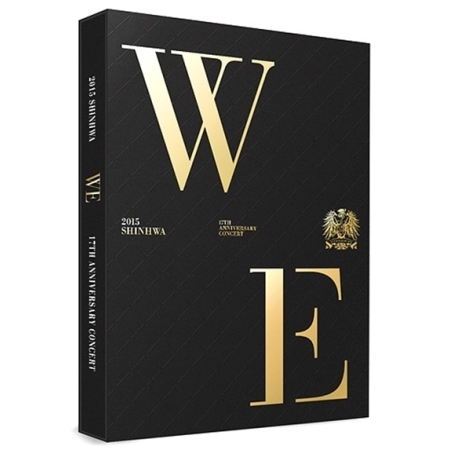 SHINHWA - 2015 SHINHWA 17TH ANNIVERSARY CONCERT [WE] Release Date 2015-11-25 KPOP ALBUM 23 2015