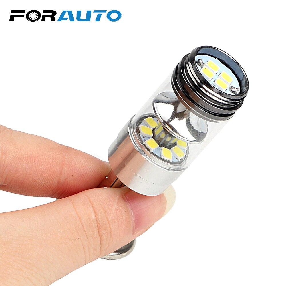 1Pcs 100w Car H1 LED Headlamp 12v Auto Bulbs 1000ML Fog Light High Power