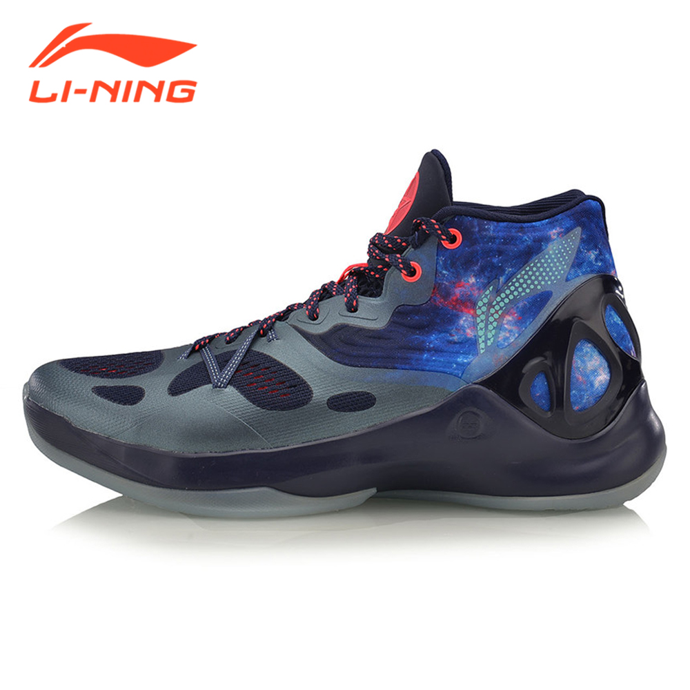 Li-Ning Men's Professional Basketball Shoes Speed & Sound V Series Basketball Shoes Brand LiNing Sneakers ABAM019 li ning brand men basketball shoes sonicv series professional camouflage sneakers support lining breathable sports shoes abam019