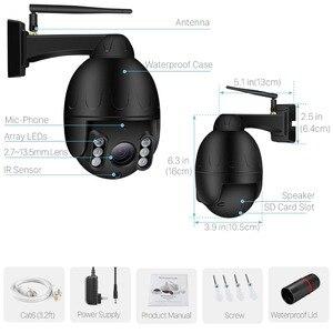Image 5 - BESDER 1080P PTZ Wifi Camera 5X Optical Zoom 2.7 13.5mm Lens Outdoor Speed Dome IP Camera CCTV Security Wireless camara CamHi