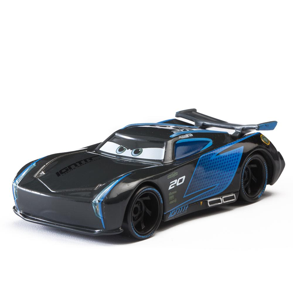 Disney Pixar Cars Jackson Storm And truck Lightning McQueen truck Ramirez 1 55 Diecast Metal Alloy Model Toy For Children gift in Diecasts Toy Vehicles from Toys Hobbies
