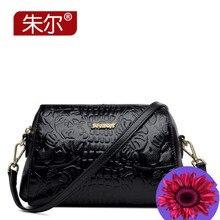Zooler 2015 women's genuine leather handbag calf skin women's messenger bag the trend of casual messenger bag female