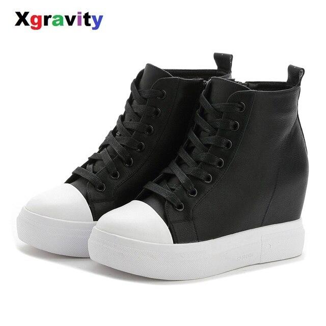 Chaussures de mode bottines en cuir augmentation bottes coins chaussures mode casual dames bottes,blanc,39