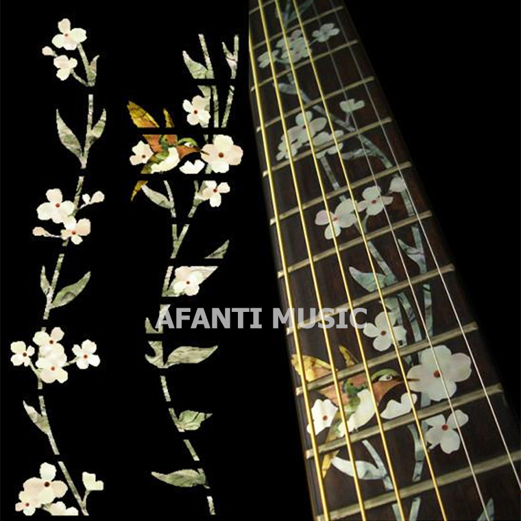 Afanti music Guitar Finger Board sticker / Shell sticker / Classic style Inlay (FPD-126)