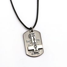 Death Note Logo Cross Pendant Necklace